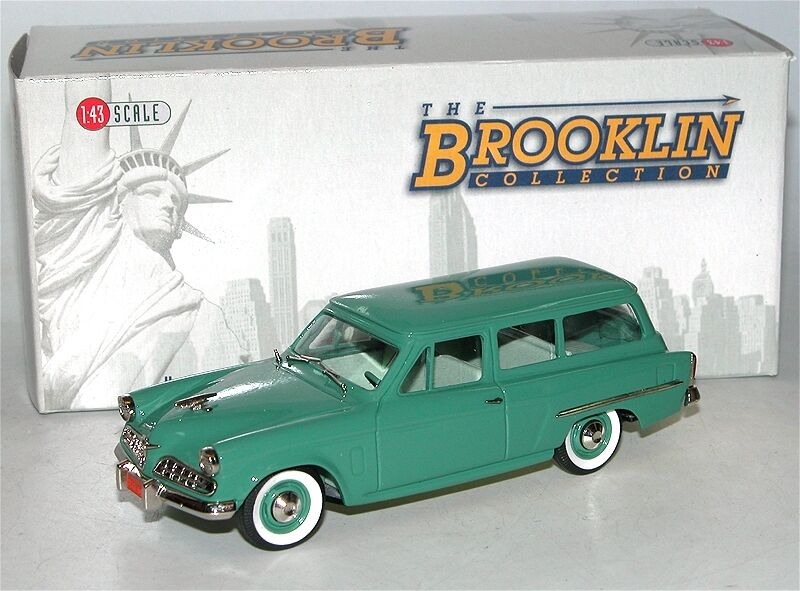 BROOKLIN BRK 107 1954 Studebaker Conestoga 2-Door Station Wagon-Loewy - 1 43