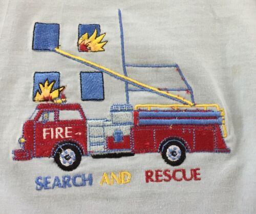 Details about  /Dani England Fire Engine T Shirt 12m