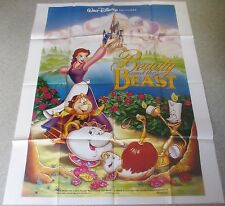 AFFICHE CINEMA 6204 - LA BELLE ET LA BETE - BEAUTY AND THE BEAST DISNEY- 120/160
