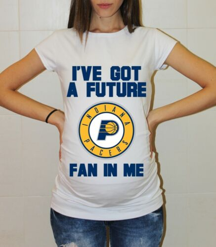 Indiana Pacers Baby Indiana Pacers Maternity Shirt Baby Shower Pregnancy Reveal