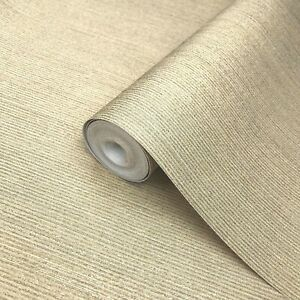 Wallpaper-yellow-Gold-Metallic-Textured-Plain-Modern-stria-lines-wallcoverings