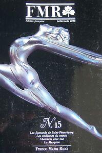 Franco-Maria-RI1CI-Magazine-Art-Fmr-No-15-of-1988-Paint-Flemish-Lalique-Naples