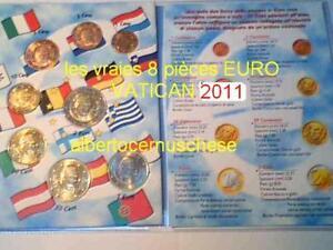 VATICAN-2011-8-pieces-3-88-EURO-Benoit-XVI-Vaticano-Benedetto-Vatikan-Benedikt