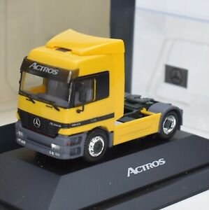 Herpa h0 somo MERCEDES BENZ ACTROS Trattore, OVP, 1:87, b310/02