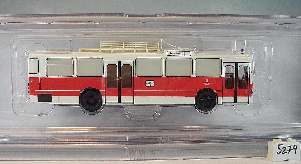 Brekina 1 87 Mercedes O 305 bus périphériques voiture pompiers Hambourg neuf dans sa boîte  5279