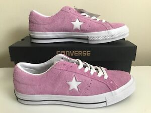 Details about Converse ONE STAR OX SUEDE LIGHT ORCHARD PINK 159492C SIZE WO'S 11 MEN'S 9