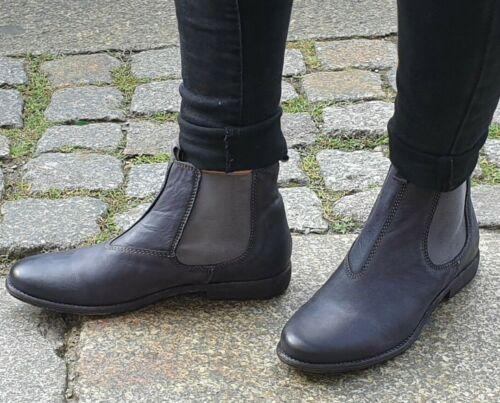 TEN POINTS Lederschuh 369 010 Schwarz  Chelsea Boots  Made in Portugal REDUZIERT