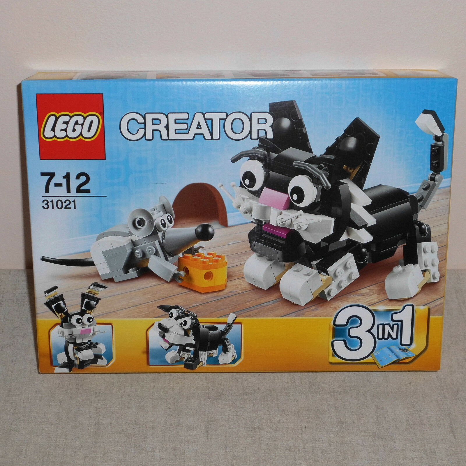 Lego 31021 31021 31021 Furry Creatures 3 in 1 Cat & Mouse BNIB Discontinued Set. 975349