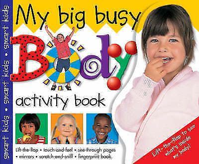 Big and Busy: My Big Busy Body Activity Book (Big Books) by Bicknell, Priddy, Ac