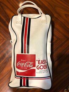 Vintage Coca Cola Bag Easy Goer Lightweight Plastic Bottles Advertising