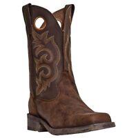 Laredo Men's Prowler Western Cowboy Boots-square Toe Leather Vintage 7424
