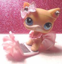 Littlest Pet Shop custom outfit clothes/accessories Pink 'SKIRT  (NO CAT)