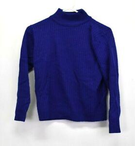 Karen-Scott-Women-039-s-Petite-Small-Merino-Wool-Blend-Turtleneck-Ribbed-Sweater