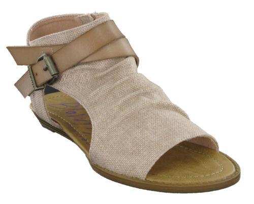 Basse Toe Scarpe Moda Con Casual Cerniera Donna Balla Da Blowfish Open Sandali pqw6q5