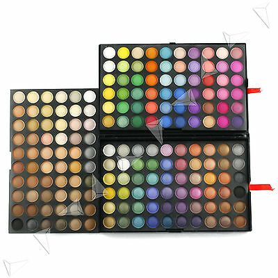 180 Full Colours Makeup Celebrate Party Wedding Eyeshadow Palette Kit W371 UK
