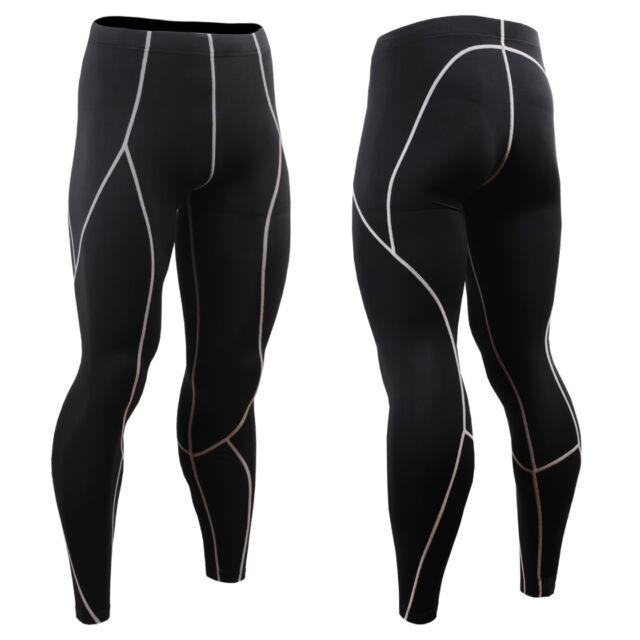 FIXGEAR P2L-BS Compression Base Layer Skin-tight Pants Gym MMA Jujitsu Boxing