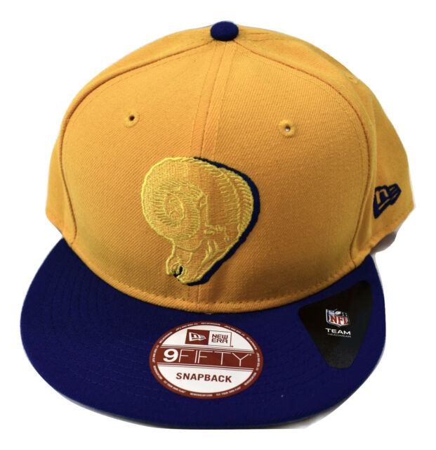 New Era 9Fifty Mens NFL Los Angeles Rams Snapback Hat Cap New Size