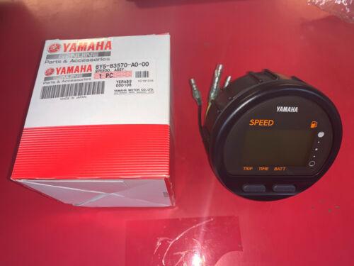 New Yamaha OEM Speedometer Outboard Multi Function Gauge 6Y5-83570-A0-00