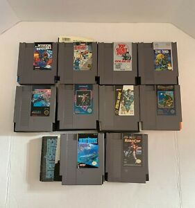 Nintendo-NES-Games-Lot-Of-10-All-Tested-amp-Working-No-Duplicates-See-Description