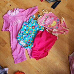 4 Girl's Next, Bhs, Nabaini, Zoggs Swimming Costumes, 3 Mois à 2 Ans-afficher Le Titre D'origine