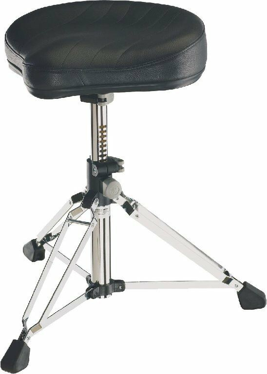 K & M 14000 Gomezz Drum Stool Drummer Sitz Drum Throne Leder Cover