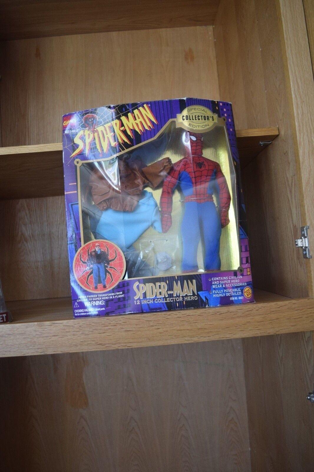 Spiderman special collector edition comi-con  super hero wear new in box 1995 M