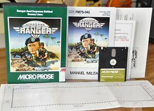 Airborne Ranger (MicroProse Sample) 1987 Boxed 128k Amstrad 6128 - Français VF