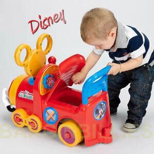 New Disney Choo Choo Mickey Mouse Clubhouse Train Kiddies Ride On