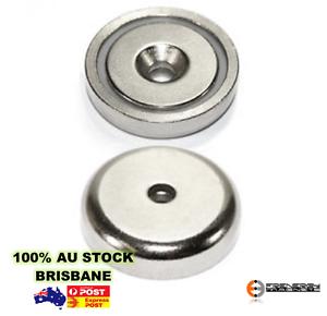 5x-A32-Heavy-Duty-32mm-25kg-Neodymium-Rare-Earth-Countersunk-Shallow-Pot-Magnets