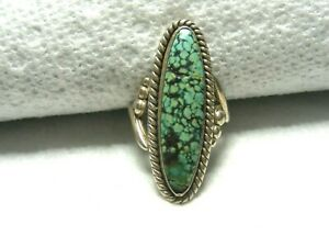 Vtg-Sterling-Silver-Turquoise-Ring