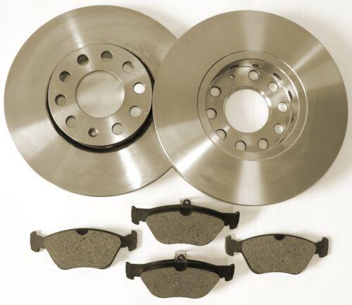 Bremscheiben Belüftet Bremsbeläge vorne Ford Fiesta ab Baujahr 2000**