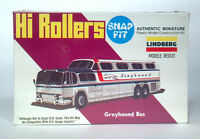 Ab Lindberg Line Hi Rollers Gm Pd 4501 Greyhound Scenicruiser Scale Model Bus