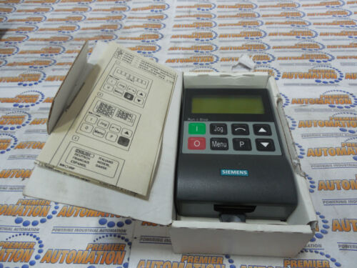 6SE32900XX878BF0 OPERATOR INTERFACE PANEL OPM 2CLEAR TEXT DISPLAY SIEMENS