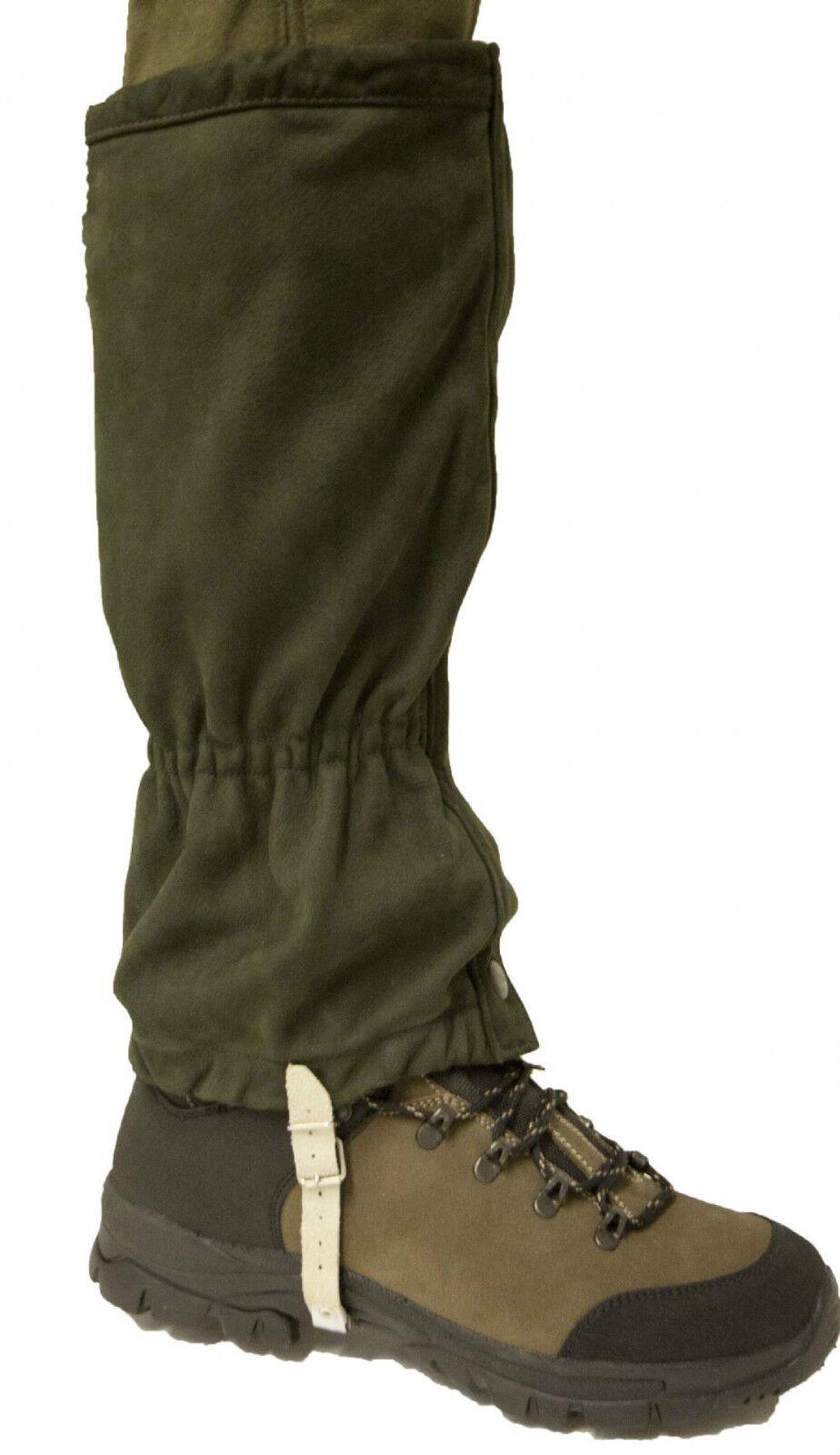 Bisley In Pelle Da Passeggio Escursioni SHOOTING CACCIA OUTDOOR ghette