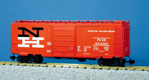 USA Trains G Scale R19204c NH W 8' YOUNGTOWN - Orange PS1 Box Car