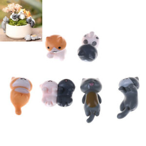 6Pcs-Cartoon-Lucky-Cats-Mini-Landscape-Kitten-Dollhouse-Decoration-Pi-OX