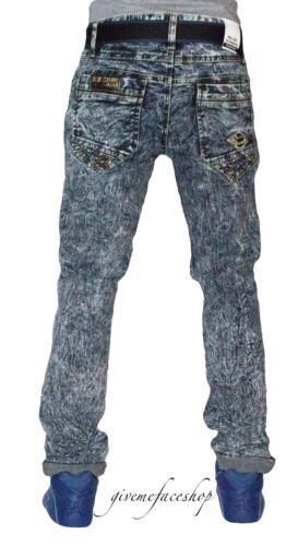 Giungla Uomo Righe Beached G Da Denim Jeans Stelle Aderente Blu Urban Aderente wqRFCx