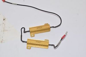 Lot-of-2-Dale-RH-50-Vishay-Wirewound-Resistors-Chassis-Mount