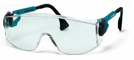 Adjustable Length /& Tilt Side-Arms EN166 uvex Safety Glasses Astrolite 3000UV