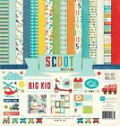 Echo Park Paper SCOOT Teen Boy Kid 12x12 Collection Kit Scrapbook