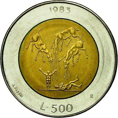 1985 SAN MARINO  War on Drugs 100 Lire  BU