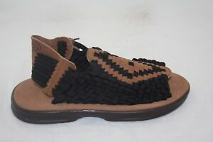 MEN-039-S-CHUBASCO-HAND-MADE-IN-MEXICO-CH-AZTEC-BLACK-COFFEE-COFFEESANDAL-MSRP-90