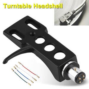 Black LP Turntable Headshell Mount Replacement For Technics SL1200 SL1210 MK2