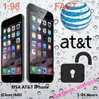 AT&T iPhone Factory Unlock Code Service 4S 5 5C 5S 6 6+ 6s 7 7+  CLEAN IMEI FAST