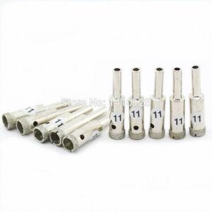 """10Pcs 13mm 1//2/""""inch Electroplated Diamond Hole Cutter Saw Core Drill Bit Masonry"""