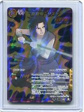 NARUTO JAPANESE card carte Miracle Battle carddass Super Omega 28 Sasuke