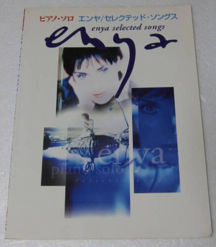 Enya selected songs Piano Play Score