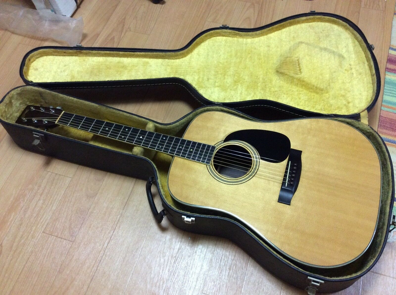 S.Yairi YD-302 Vintage 1978 Acoustic Guitar Beautiful Jacaranda + Free shipping