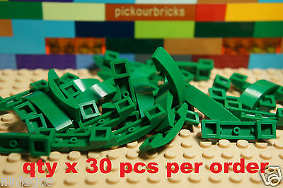 pack of 4 93273 Bright Green 4 x 1 arch LEGO