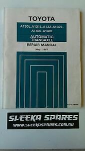 Toyota corolla repair manual for ee90,ae92 from 1987-91 corolla.
